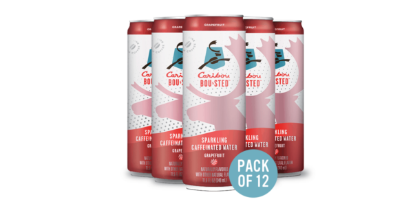 Caribou's grapefruit ready-to-drink cans