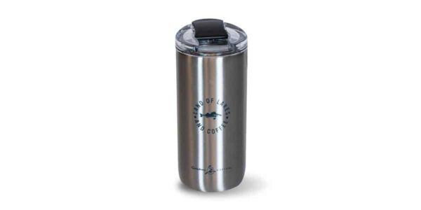 Tall Stainless 16oz - back with icon
