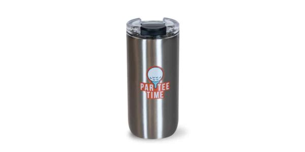 Par-tee time stainless tumbler