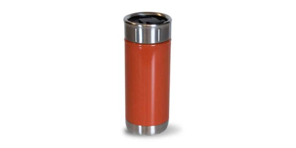 Tall Red Colorful Stainless - back