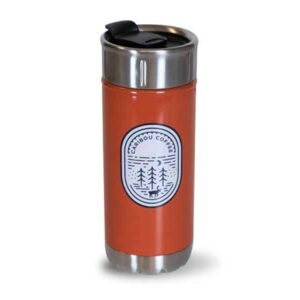 Tall Red Colorful Stainless with outdoors icon - front