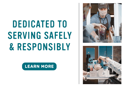 Dedicated to serving safely and responsibly - click to learn more