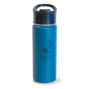Tumbler, navy, with logo