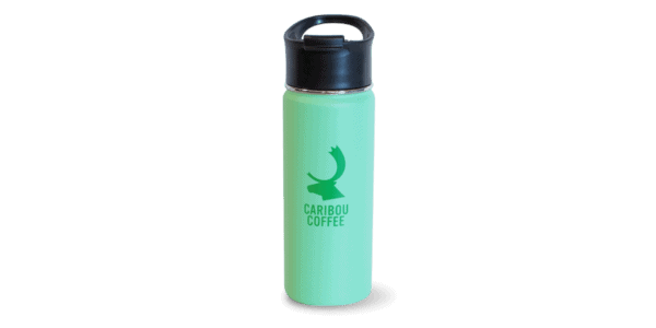 Tumbler, mint, with logo
