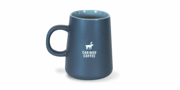Outdoorsy Ceramic Mug, Charcoal, Drinkware