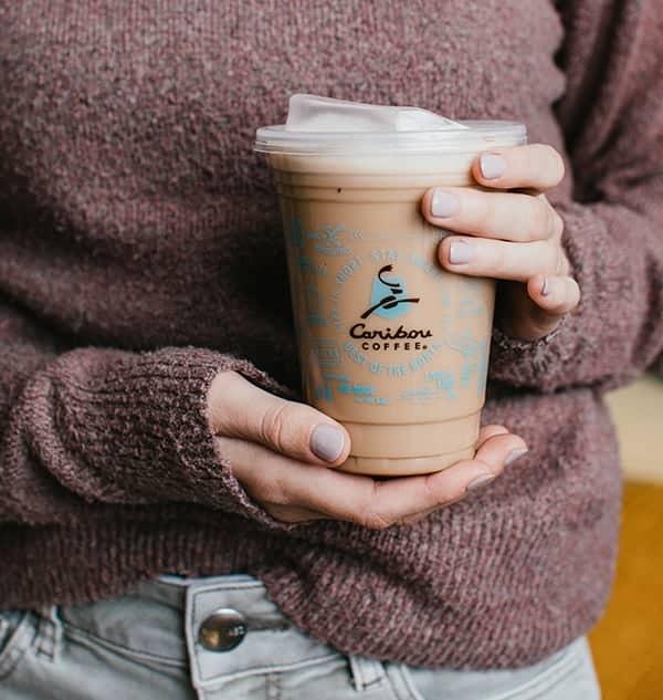 Caribou Coffee Nitro Pumpkin White Mocha