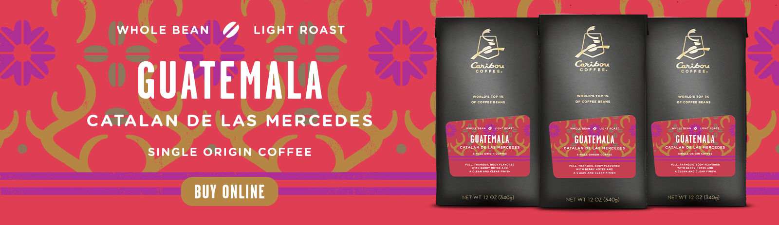 Guatemala Catalan de las Mercedes specialty Discovery coffee is all new and ready for discovery - click to shop