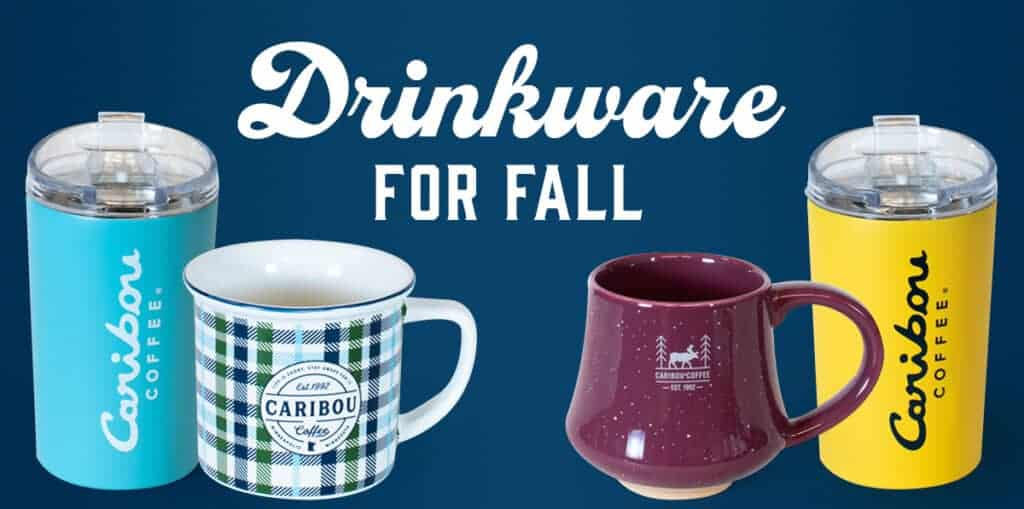 Fall drinkware is here! Mugs, tumblers, hydration, ceramic, stainless. Perfect for fall coffee sipping.