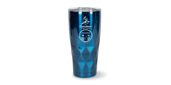 Faceted Stainless Steele Tumbler Emerald