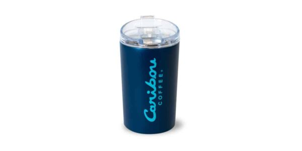 Fall Dark Blue Tumbler 12oz