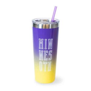 Fall Viking Cold Tumbler Purple
