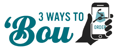 Text: 3 Ways to Bou