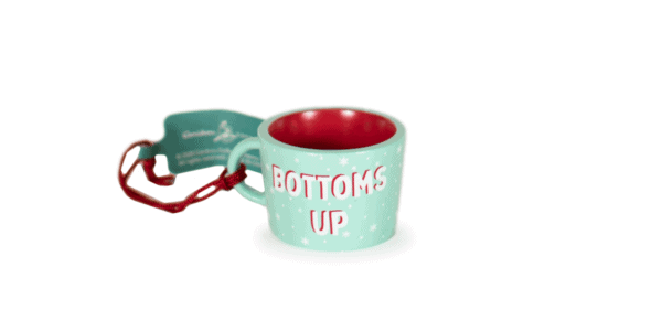 Bottoms Up Ornament