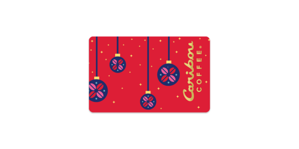Holiday Foil Gift Card