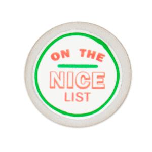 On The Nice List Cookie