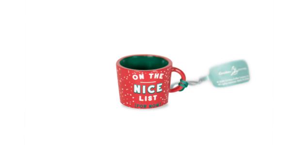 On The Nice List Ornament