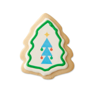 X-mas Tree Cookie