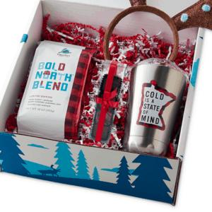 Caribou Holiday Tumbler set