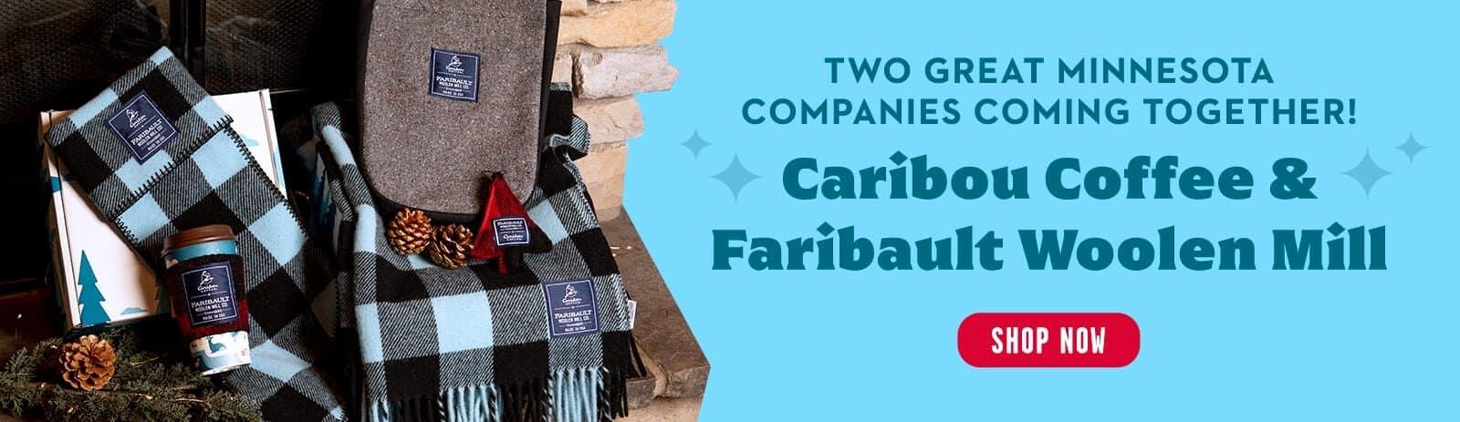Faribault Woolen Mill Desktop Banner