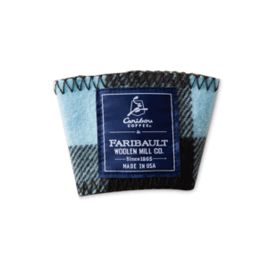 Faribault Woolen Mill Co. Clutch Blue Plaid v2