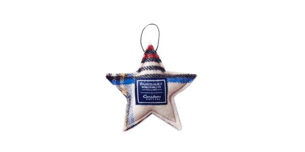 Faribault Woolen Mill Co. Tree Ornament Star v2