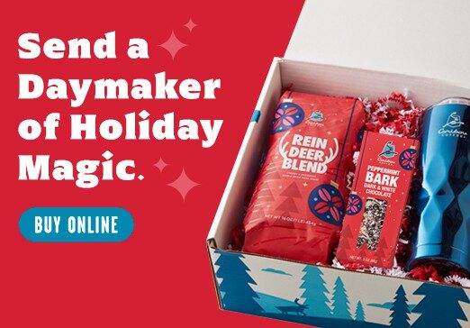Send a Daymaker of Holiday Magic Mobile Banner with Peppermint Bark