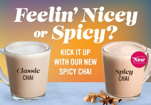 Feelin Nicey or Spicy new Spicy Chai beverage