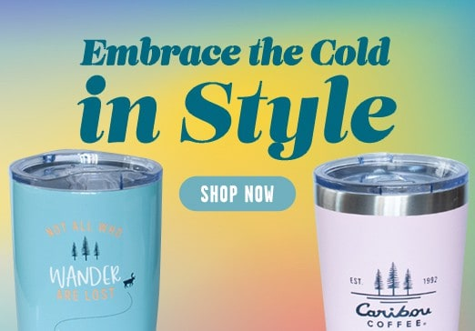 Embrace the Cold in Style drinkware