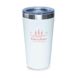 Caribou Coffee Est 1992 Tumbler, White