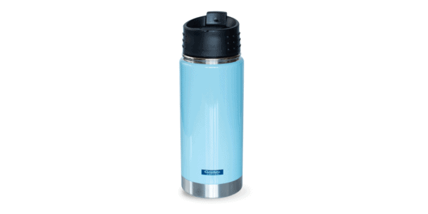 MN Adventures Stainless Tumbler, Teal, Back