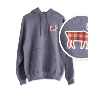 Buffalo Plaid Caribou Fleece Hoodie