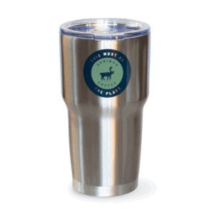 This Must Be The Place Stainless Steel Tumbler, Front
