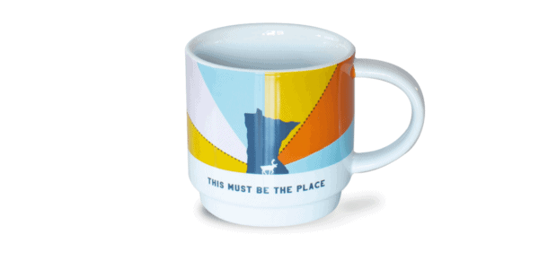 This Must Be The Place Mug, Front