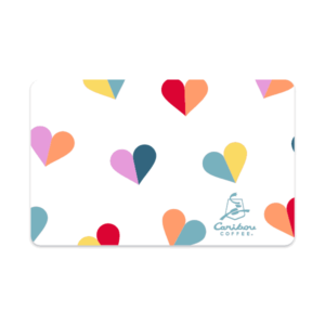 Gift Card Multi Hearts