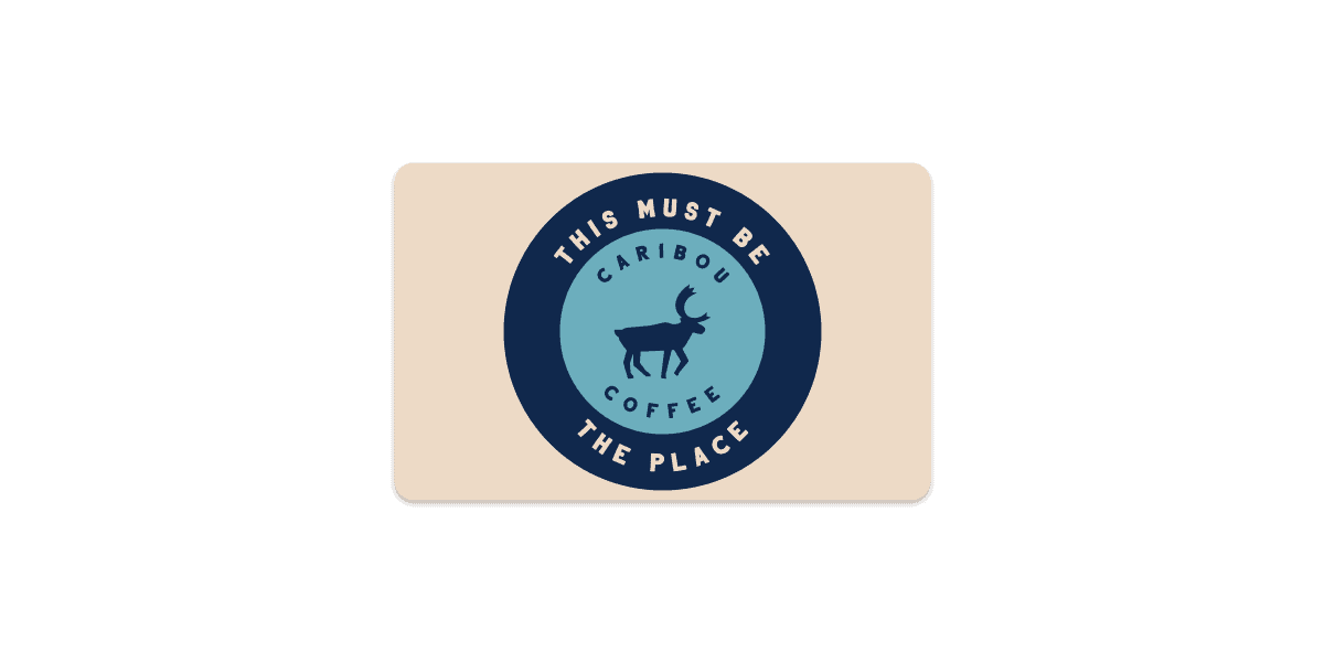 Caribou Card- This must be the Place