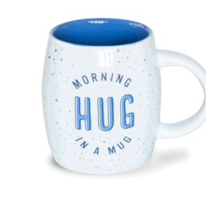 Morning Hug in a Mug, Ceramic Mug, Front