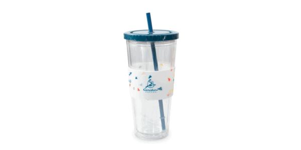 Acrylic Silicone Cold Cup Dark Blue