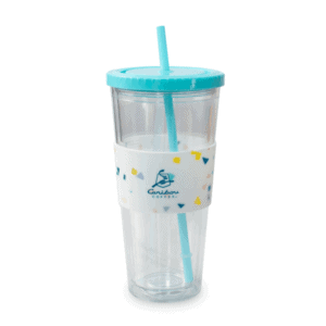 Acrylic Silicone Cold Cup Teal