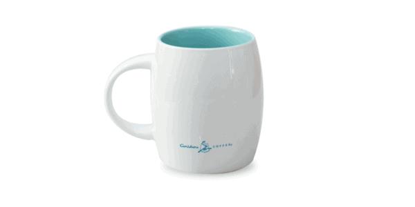Collage Ceramic Mug Back