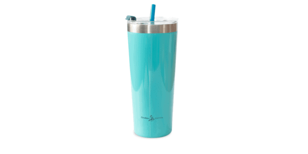 Collage SS Tumbler Teal Back