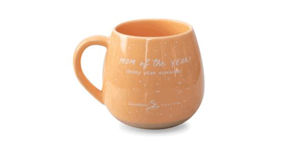 Mama Bear Ceramic Mug Orange Back