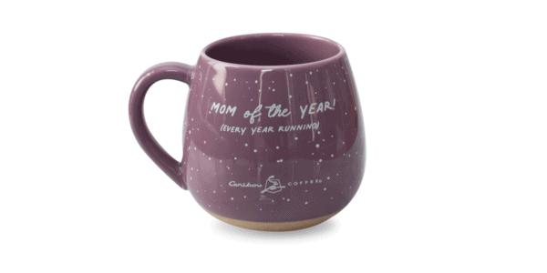Mama Bear Ceramic Mug Purple Back