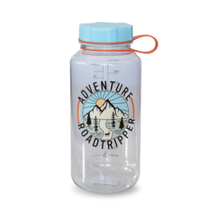 Adventure Roadtripper Water Bottle Blue Cap