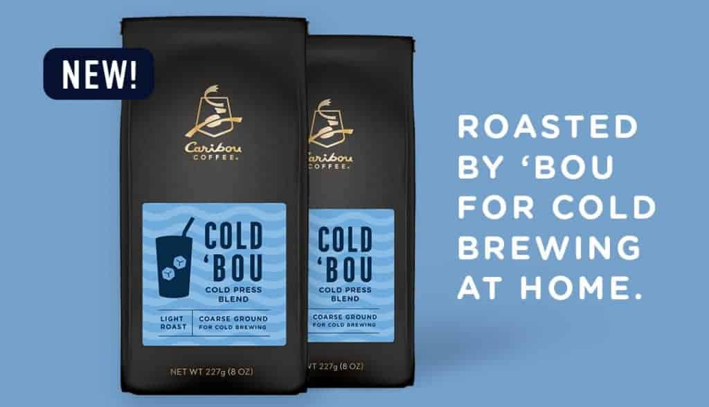 Roasted by 'Bou for cold brewing at home. Two Cold 'Bou Bags.