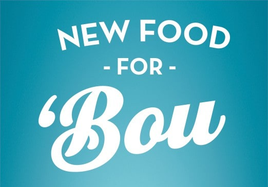 New Food for BOU