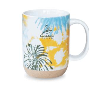 Tie Dye Ceramic Mug