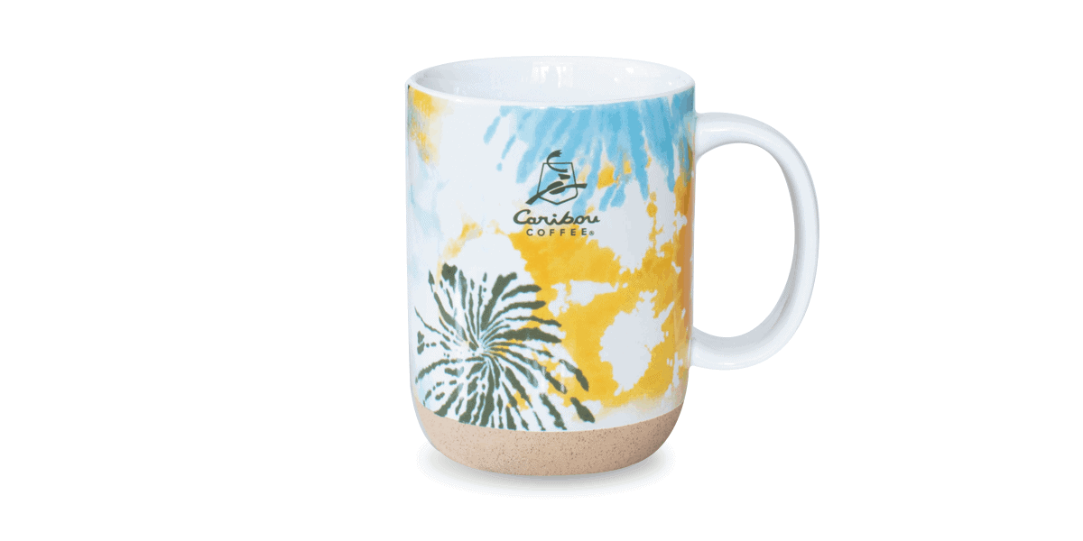 Tie Dye 14 oz Ceramic Mug