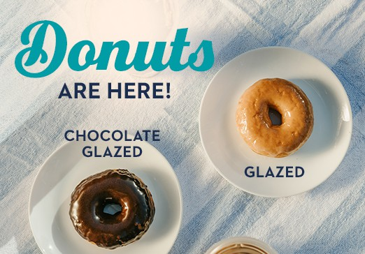 Donuts are here! Mobile