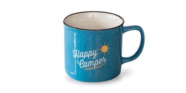 Happy Camper 12oz Mug Front