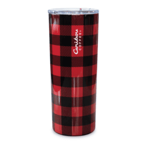 Buffalo Plaid Stainless Red Black